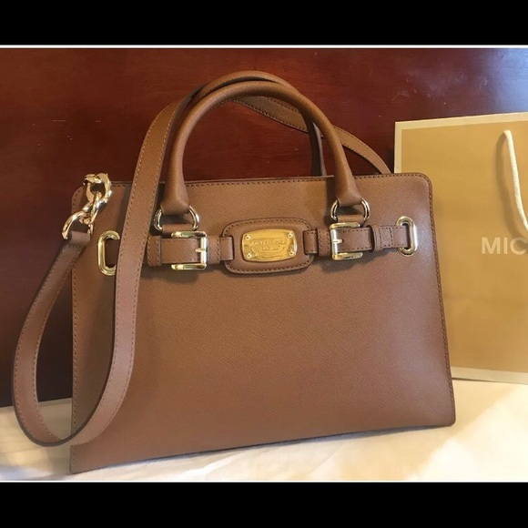 f6367bb451b9  298 Michael Kors Hamilton Handbag Purse MK Bag